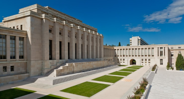 Der Palais des Nations