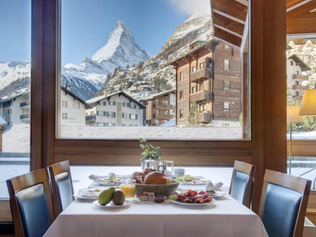 restaurant Hotel Metropol and Spa Zermatt